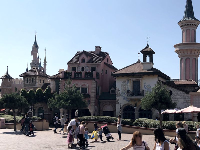Fantasyland Disneyland Paris