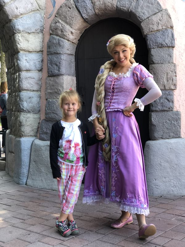 Rapunzel Meet & Greet im Fantasyland